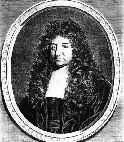 1685 - Antoine d'Aquin (gr. Jans)