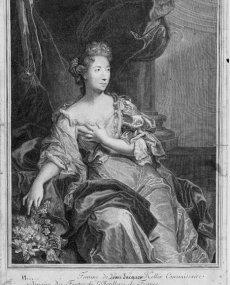 1686 - Suzanne de Boubers de Bernâtre (gr. P. Drevet)