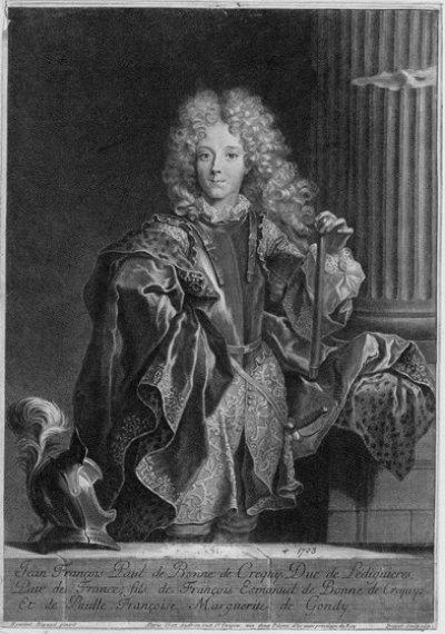 1686 - Jean-François de Paule de Créquy de Bonne (gr. P. Drevet)