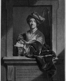 1711 - Autoportrait au porte mine (gr. 1721)