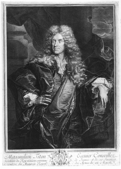 1688 - Maximilien Titon (gr. P. Drevet)