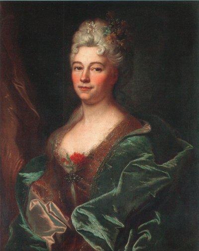 1715 - Marguerite de la Mésangère (coll. priv)